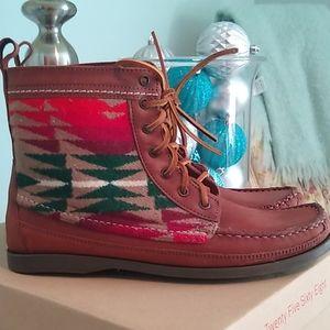 NEW 2568 Samosa Pendleton Leather Boot Sz 8